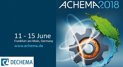 We are looking forward to welcoming you to ACHEMA