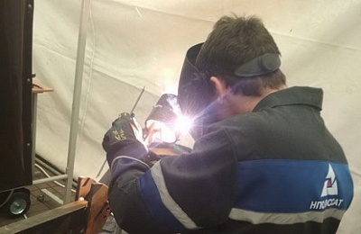 The employee of NPO Passat was second in the competition of welders of Belarus
